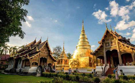 Destaques da Tailândia.