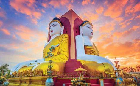 Excursión de día completo a Bago desde Rangún (Yangon) con guía en español