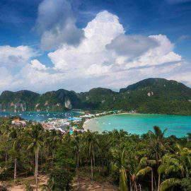 view of phi phi island