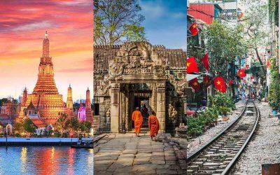 Aproveche al máximo en un solo viaje con el tour a Tailandia, Camboya y Vietnam